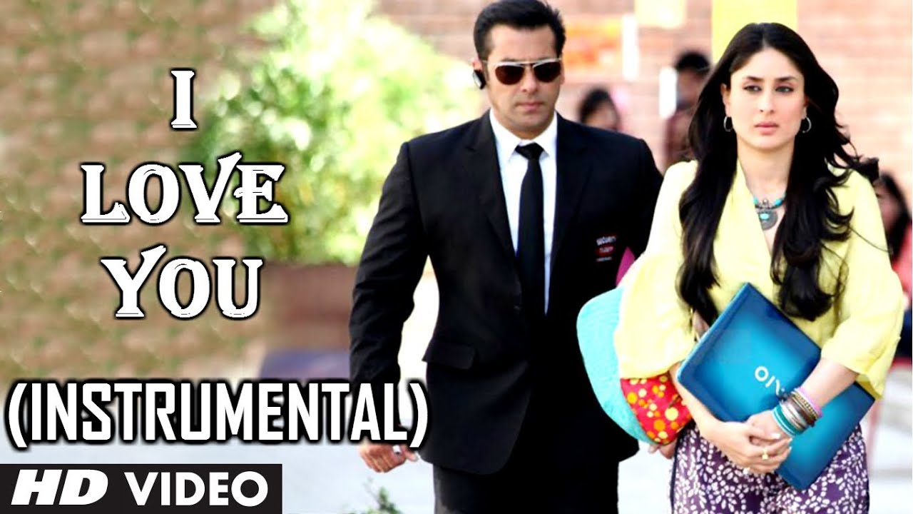 I love you song instrumental